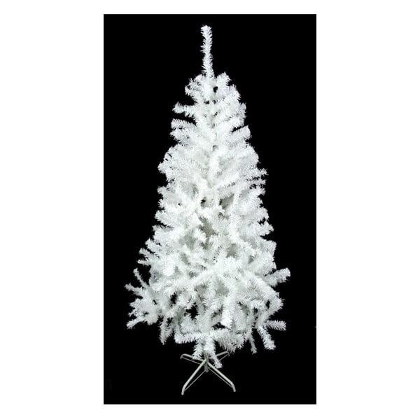 Bílý vánoční stromek Unimasa,výška210cm