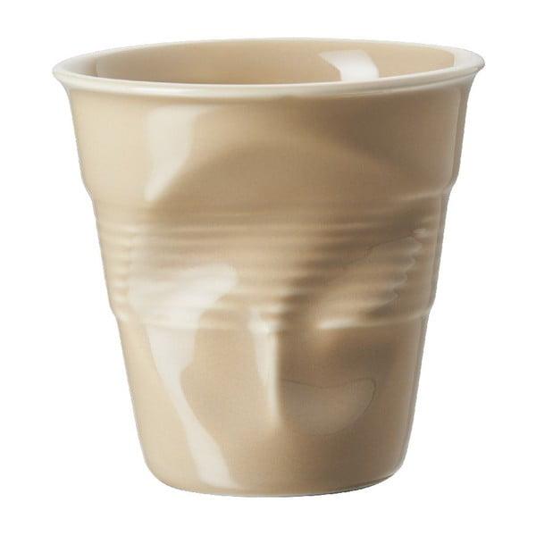Kelímek na cappuccino Froisses 18 cl, pískový