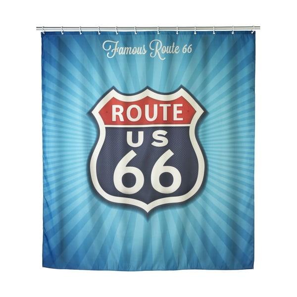 Retro sprchový závěs Wenko Route 66