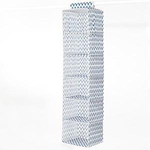Textilní závěsný organizér Compactor Zig Zag 6 Rack