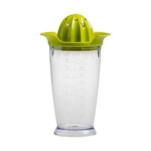 Zelený odšťavňovač s nádobkou Brandani Portable