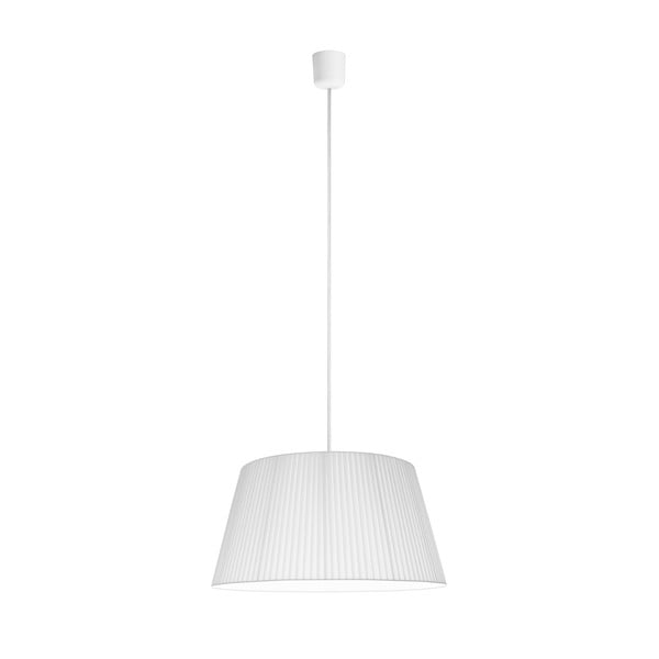 Bílé stropní svítidlo Sotto Luce KAMI,Ø45cm