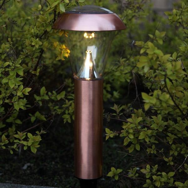 Měděné zahradní LED světlo Best Season Minimal