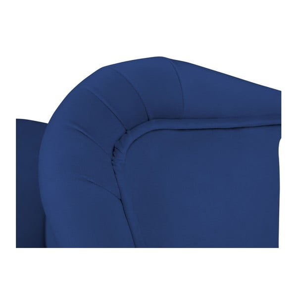 Modrá barová židle Mazzini Sofas Roco