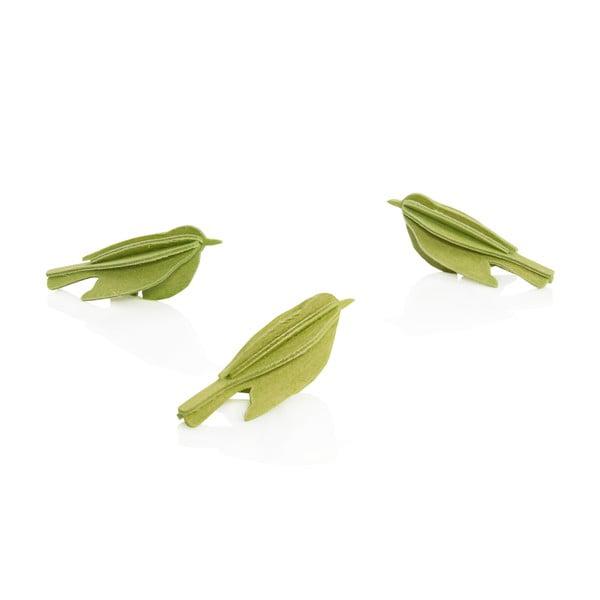 Skládací pohlednice Lovi Minibird Light Green
