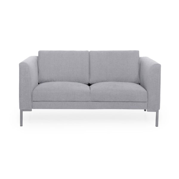 Jasnoszara sofa 2-osobowa Softnord Kery