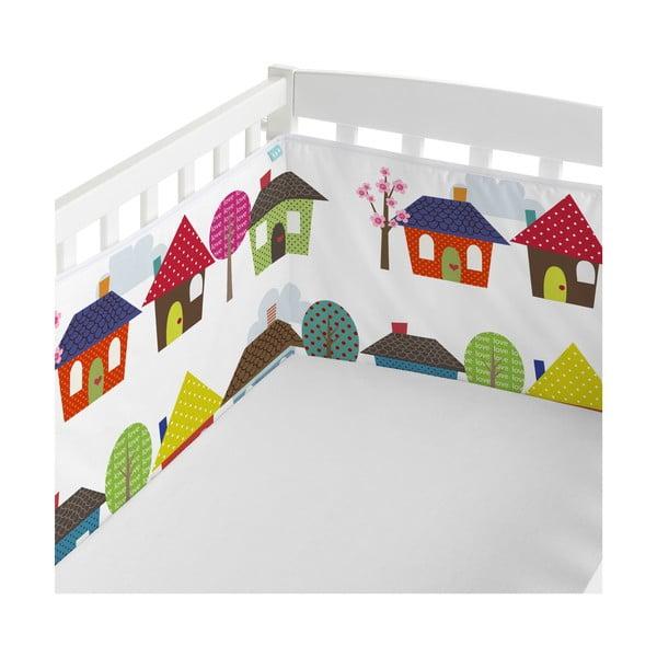 Výstelka do postýlky Mr. Fox Happy Homes, 210x40cm