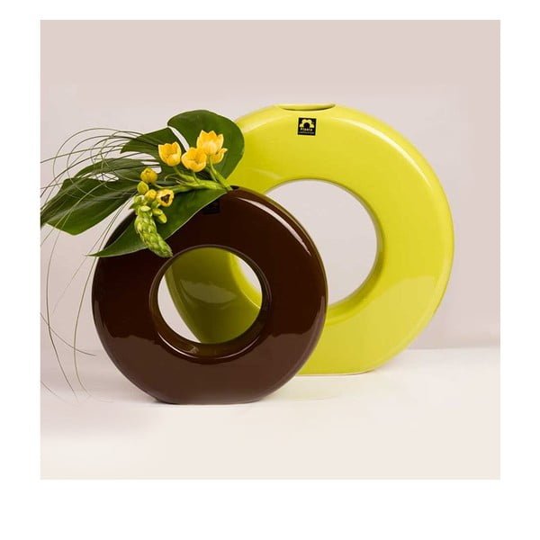 Váza Seina 28 cm, zelená