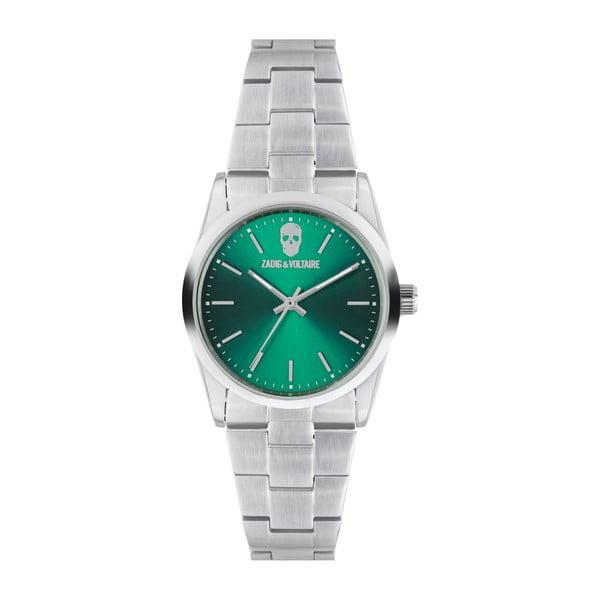 Zeleno-stříbrné hodinky Zadig & Voltaire Simplicity