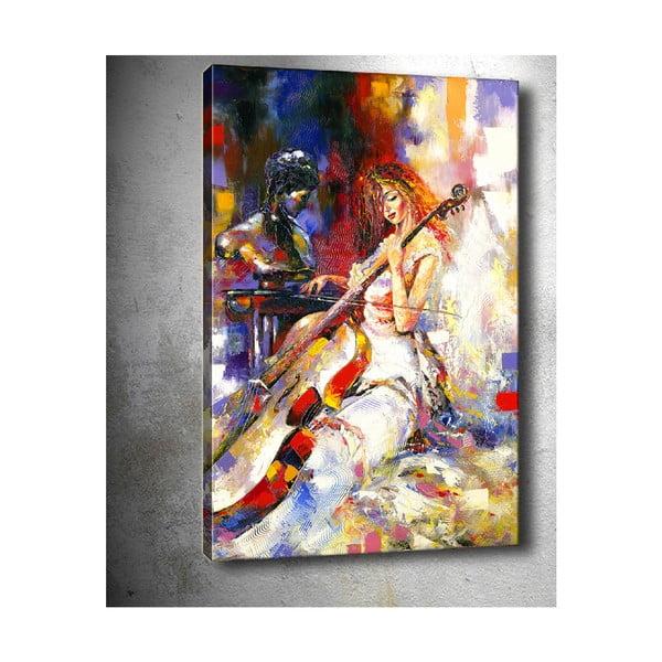 Obraz Tablo Center Contrabass, 50 x 70 cm