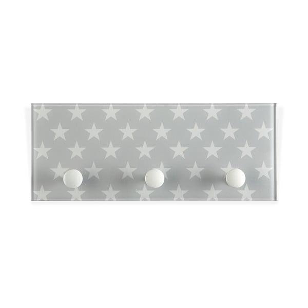 Koupelnové háčky Stars Grey
