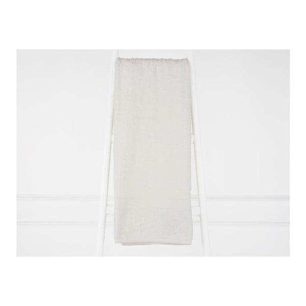 Krémově bílá bavlněná osuška Madame Coco Eartha, 90x150 cm