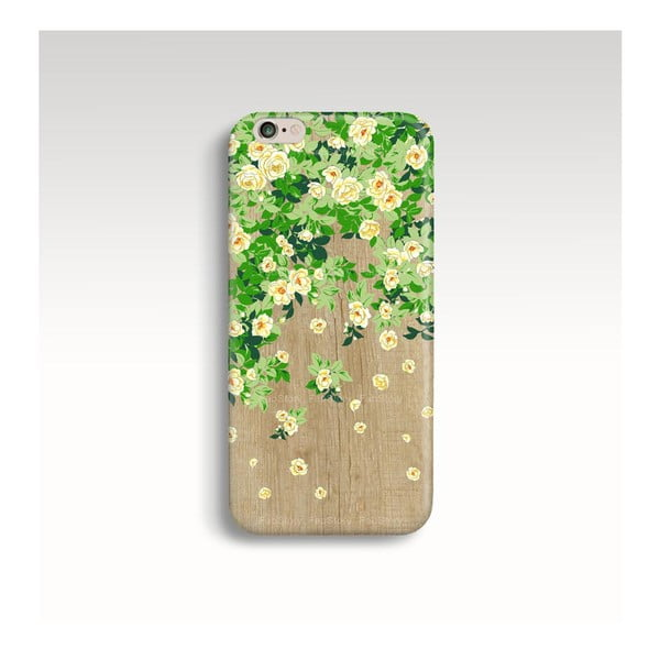 Obal na telefon Wood Roses pro iPhone 6+/6S+