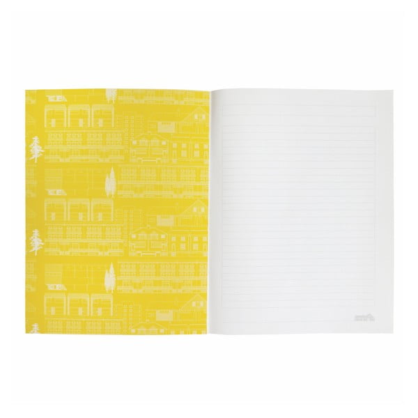 Zápisník s pouzdrem na tužky Portico Designs, 100stran