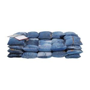 Modrá dvoumístná pohovka Kare Design Jeans
