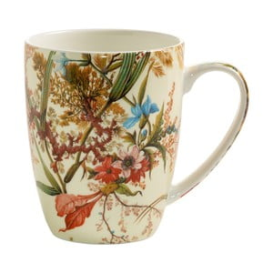 Hrnek z kostního porcelánu Maxwell & Williams Kilburn Cottage Blossom, 390 ml