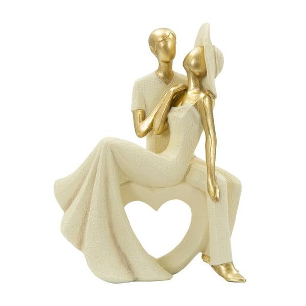 Statuetă decorativă cu detalii aurii Mauro Ferretti Charme