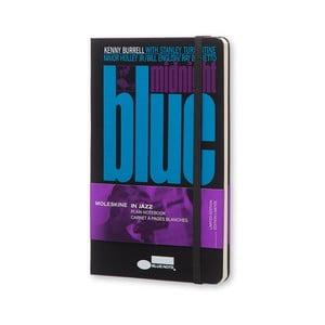 Zápisník Moleskine Blue Note Records, velký, nelinkovaný