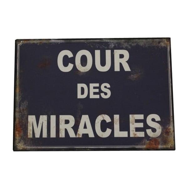 Plechová cedule Antic Line Cour Des Miracles