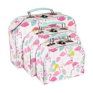Set 3 valize Rex London Flamingo Bay