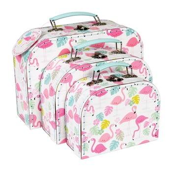 Set 3 valize Rex London Flamingo Bay de la Rex London
