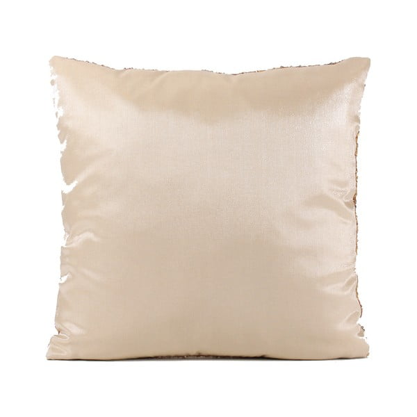 Flitrovaný polštář Shiny Gold, 43x43cm