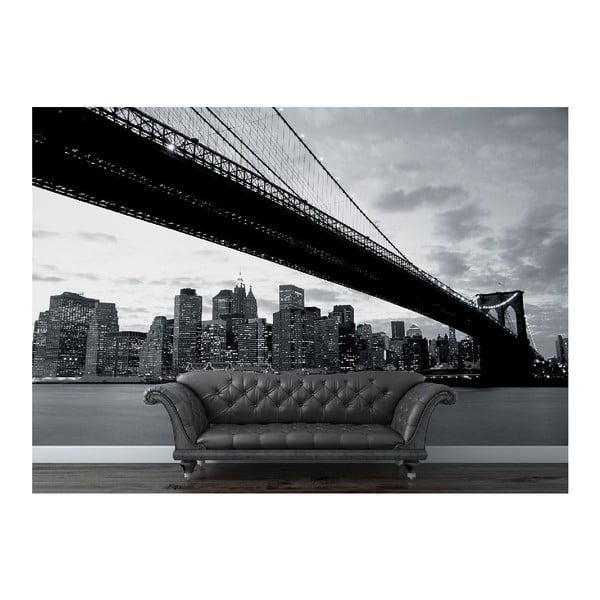 Velkoformátová tapeta NY a Brooklynský most, 315x232 cm