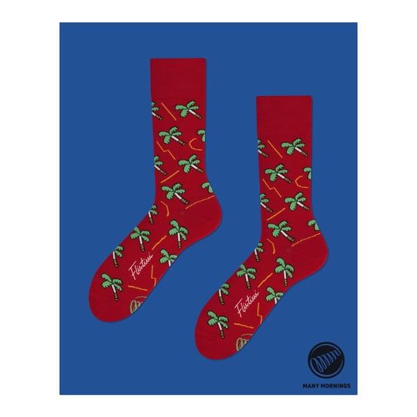 Ponožky Many Mornings Palms on Fire, vel. 43/46