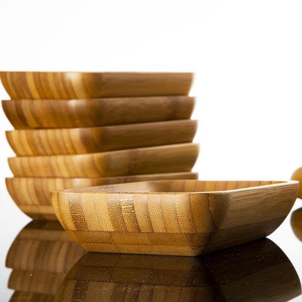 Sada 6 bambusových mističek Bambum Lateria