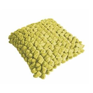 Limetkově žlutý polštář ZicZac Pebble, 45x45cm
