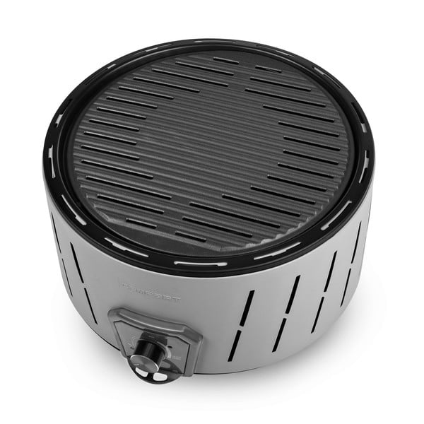 Grătar electric pe bază de cărbuni, fără fum Tristar