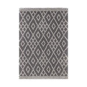 Tmavě šedý koberec Mint Rugs Ornament, 80x150cm
