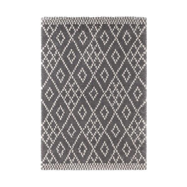 Tmavě šedý koberec Mint Rugs Ornament, 120x170cm