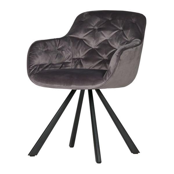Elaine szürke szék - WOOOD