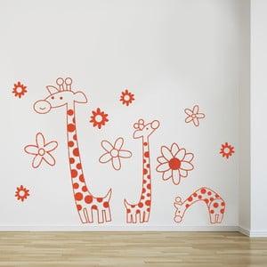 Samolepka na stěnu Žirafa, 60x90 cm