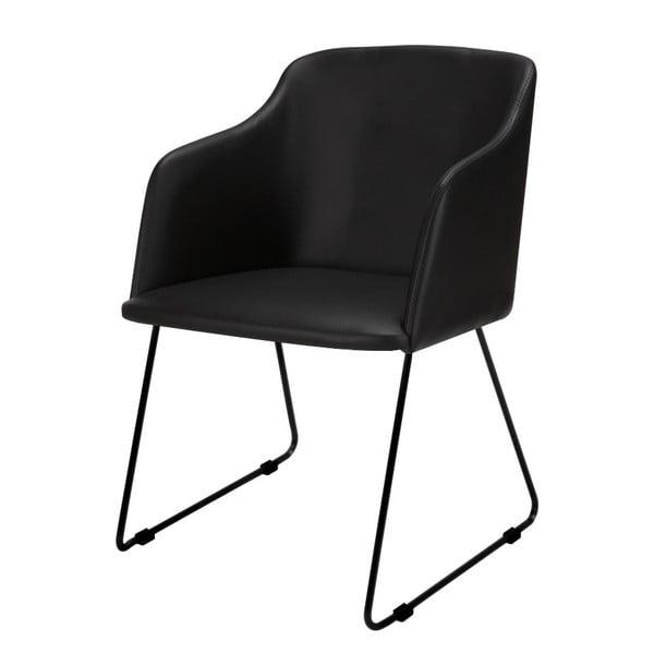 Černá jídelní židle Interstil Casablanca