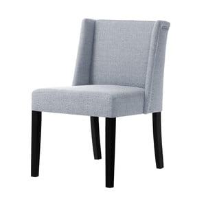 Šedá židle s černými nohami Ted Lapidus Maison Zeste