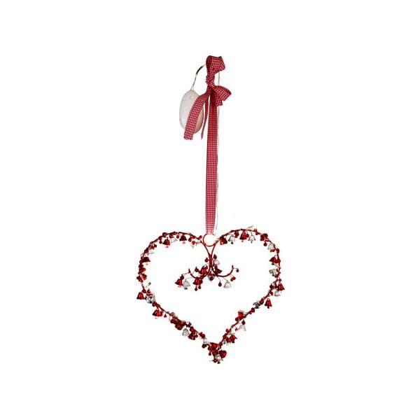 Svítící dekorace Heart and Bells