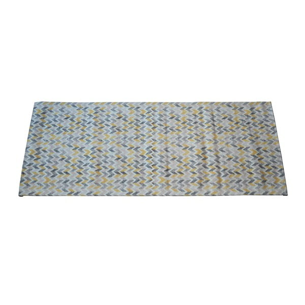 Covor Floorita Knit Grey Ochre, 60 x 115 cm