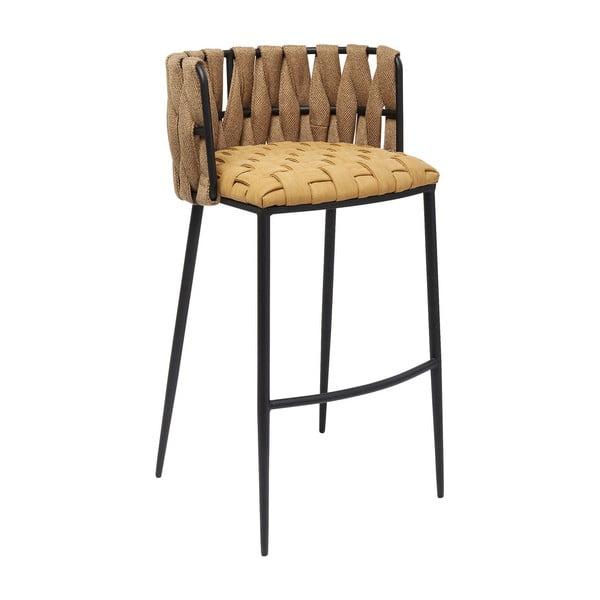 Set 2 žlutých barových stoliček Kare Design Cheerio