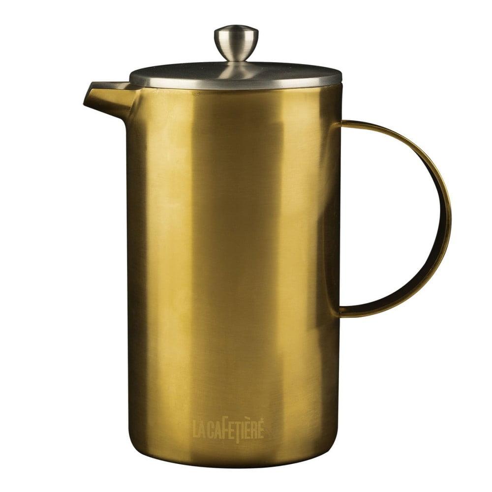 Konvice na kávu ve zlaté barvě Creative Tops Cafetiere, 1 litr