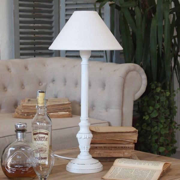 Stolní lampa Mattia White