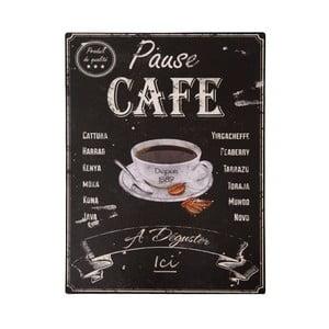 Tăbliță Antic Line Pause Café