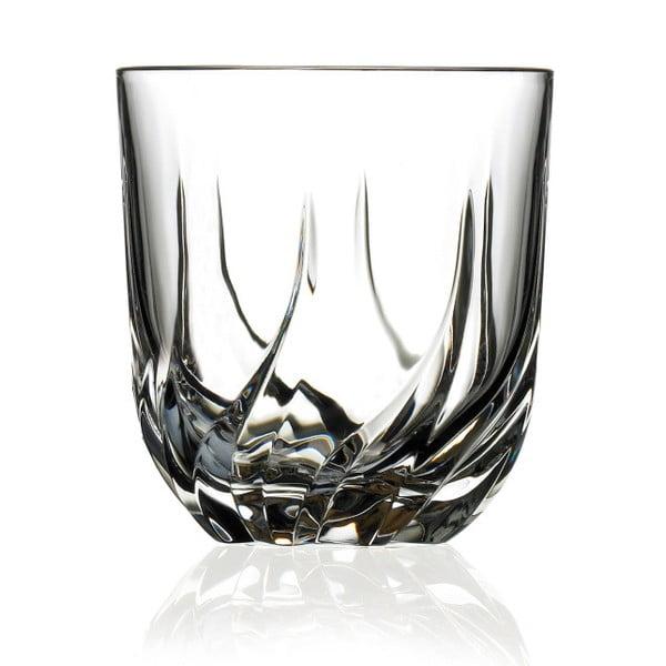 Sada 6 sklenic na whiskey RCR Cristalleria Italiana Manuel, 400 ml