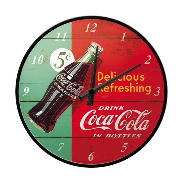 Hodiny Drink Coca Cola, 31 cm