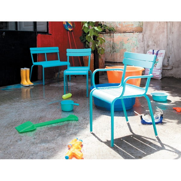 Růžová dětská židle Fermob Luxembourg