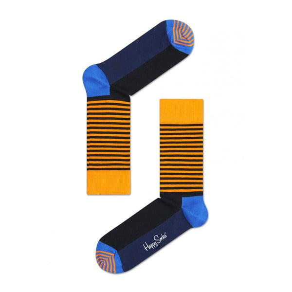 Ponožky Happy Socks Orange and Blue, vel. 41-46