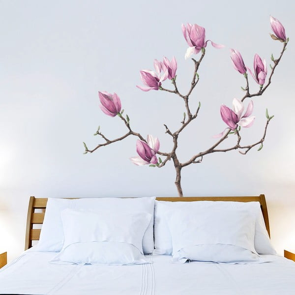 Samolepka Magnolia, 70x50 cm