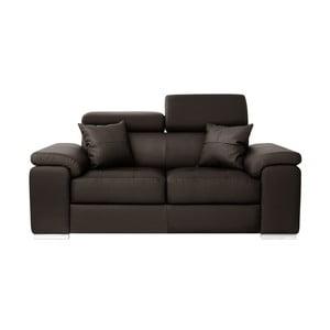 Canapea cu 2 locuri Corinne Cobson Confidential, maro închis