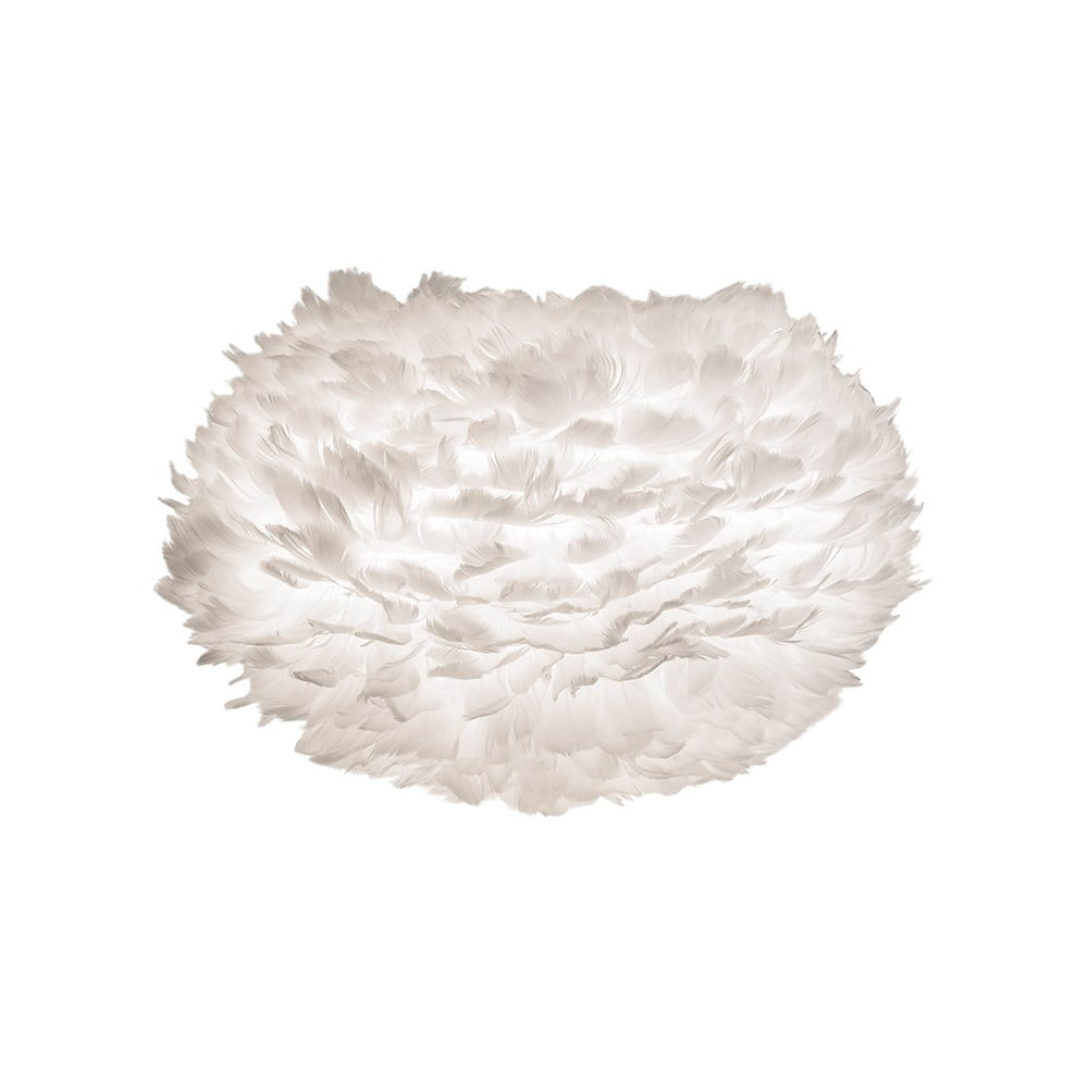 Bílé stínidlo z husího peří VITA Copenhagen EOS, ⌀ 45 cm